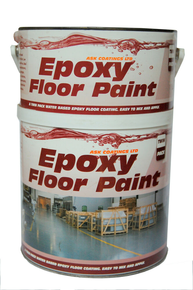Epoxy Resin Floor Paint By Ask Coatings For Garage