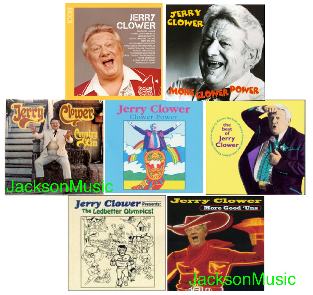 Jerry clower comedy collection 9 different new cds 146 jerry clower comedy collection 9 different new cds 146 original stories ebay arubaitofo Image collections