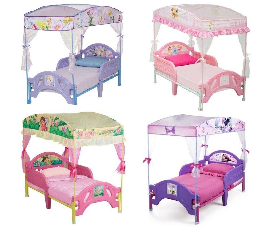Toddler Bed With Canopy Bed Tent Multiple Choice Ebay