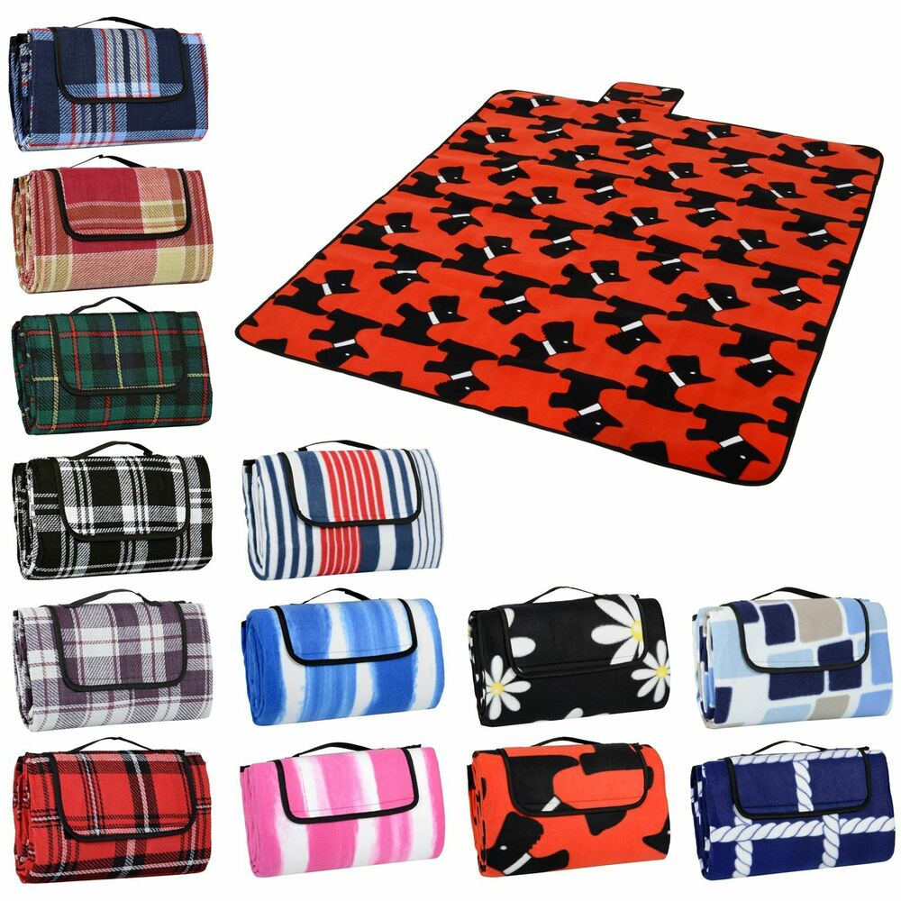 Folding Blanket Camping Outdoor Beach Festival Waterproof