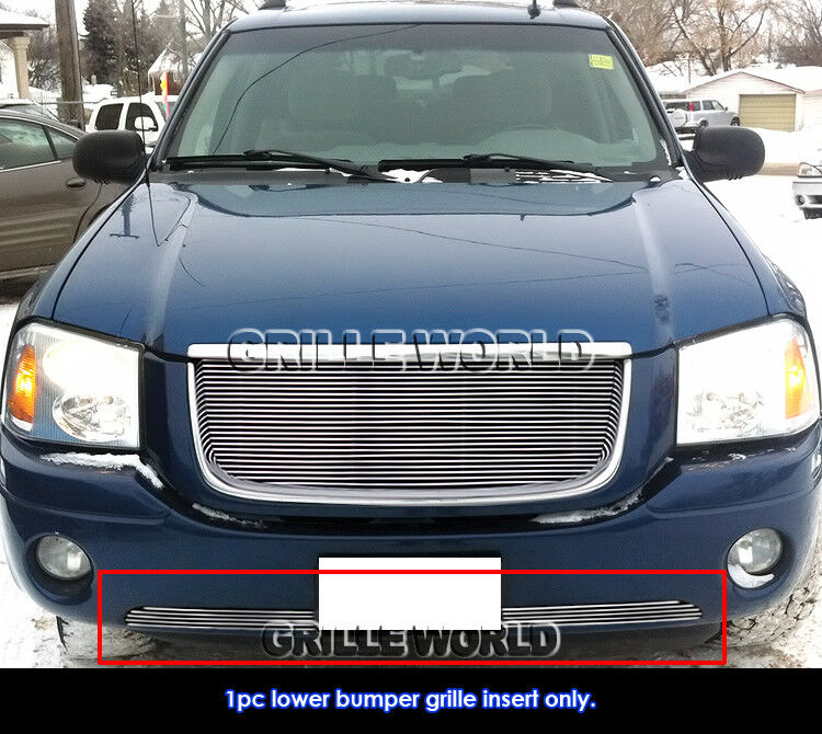 for 2001 2009 gmc envoy bumper billet grille grill insert. Black Bedroom Furniture Sets. Home Design Ideas