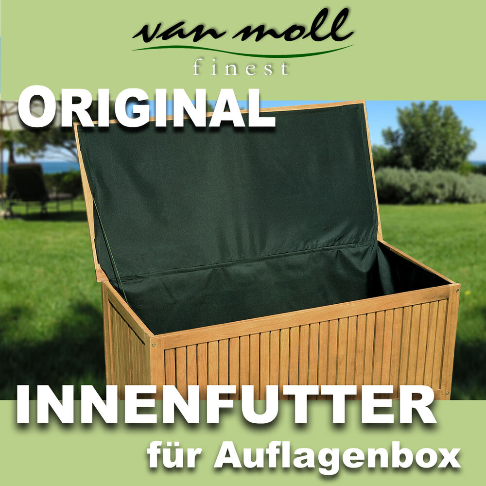 vmf wasserfeste auskleidung innenfutter f r gartentruhen. Black Bedroom Furniture Sets. Home Design Ideas