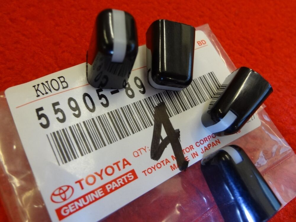 Kit Cars To Build Yourself In Usa: NEW Toyota Heater AC Control Knobs Kit 4Runner Pickup Land