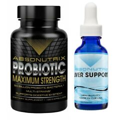 Absonutrix Probiotic Max and Absonutrix Liver support helps with over all health
