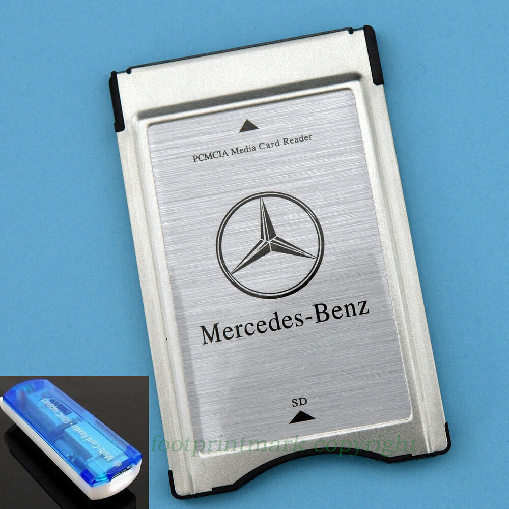 pcmcia to sd sdhc card adapter for mercedes benz usb 2 0