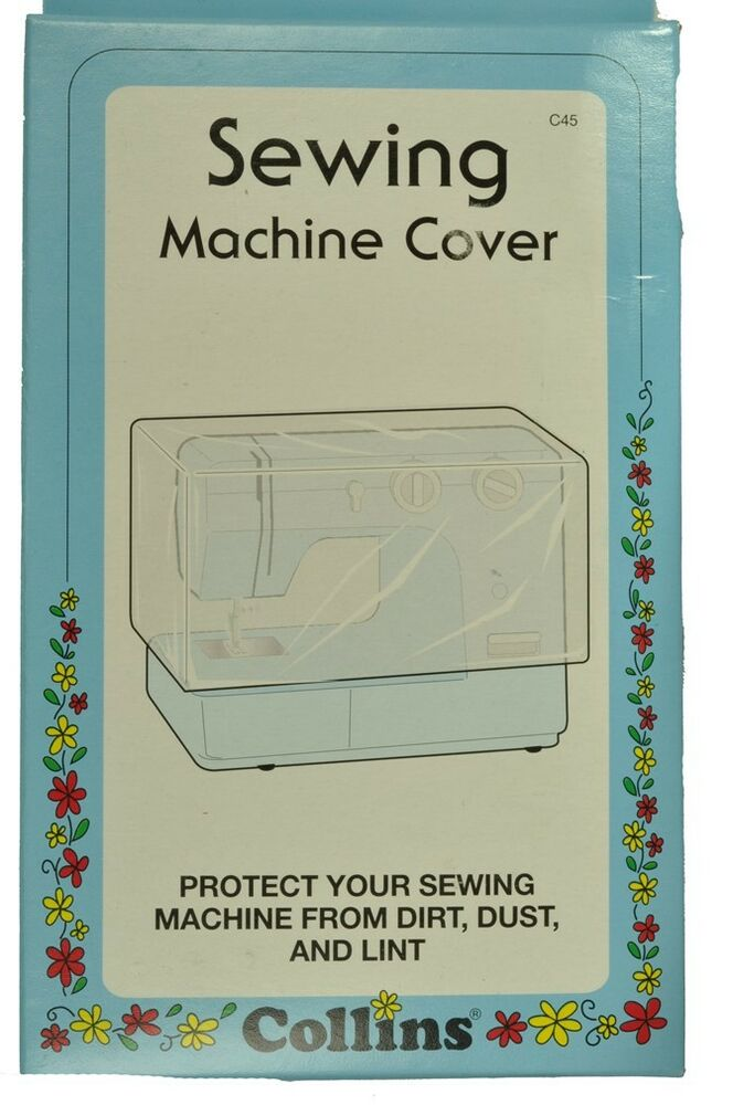 Book Cover Sewing Vinyl : Sewing machine cover vinyl heavy duty dust dc ebay
