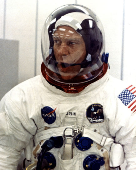Astronaut Apollo 11 BUZZ ALDRIN Glossy 8x10 Photo Space ...