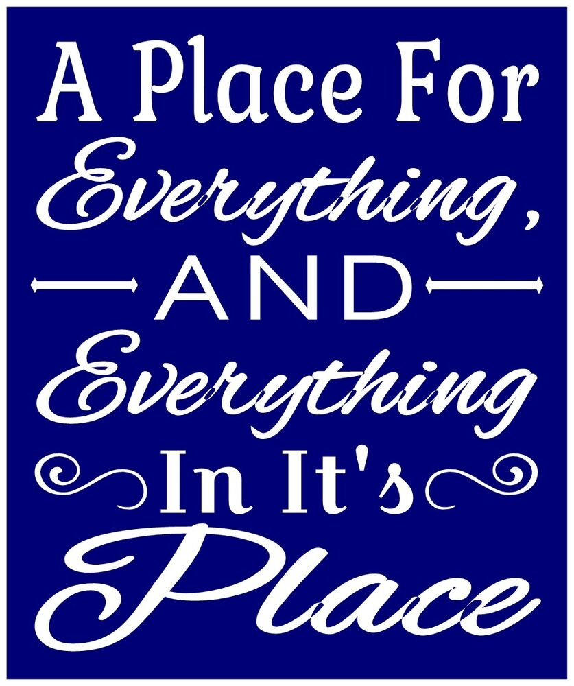 Primitive stencil for signs crafts quote word a place for Quote stencils for crafts