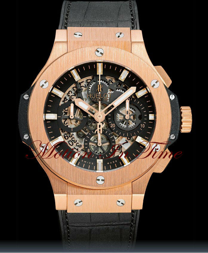 Hublot Big Bang Aero Bang Rose Gold 44mm Skeleton With