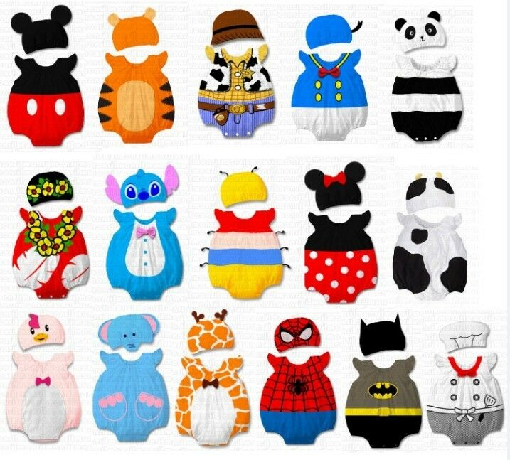 34 designs new baby boys girls animal costume clothes romper outfit