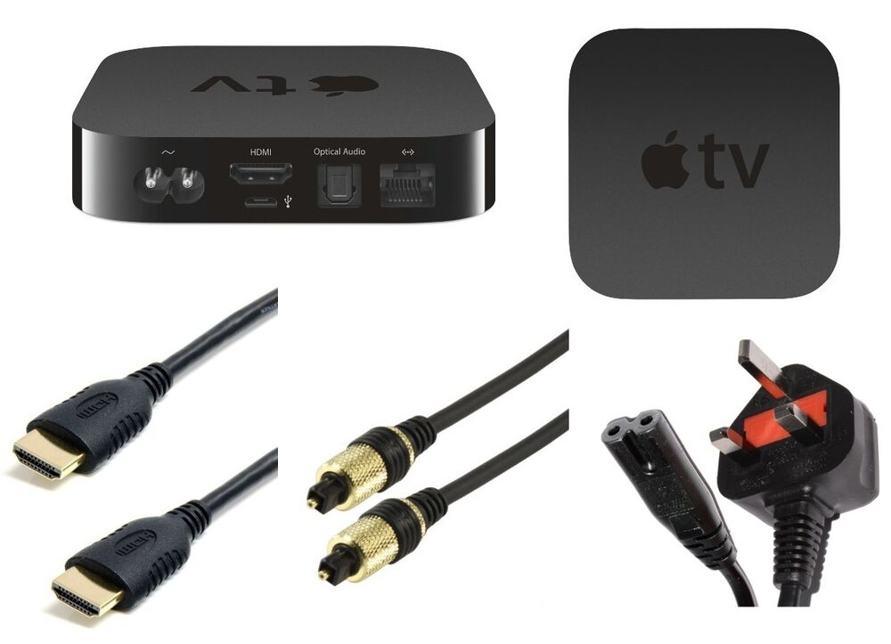 Apple Tv Accessories Hdmi Cables Optical Cables