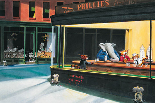 1000+ images about NIGHTHAWKS on Pinterest | Edward hopper ... |Nighthawks Star Wars