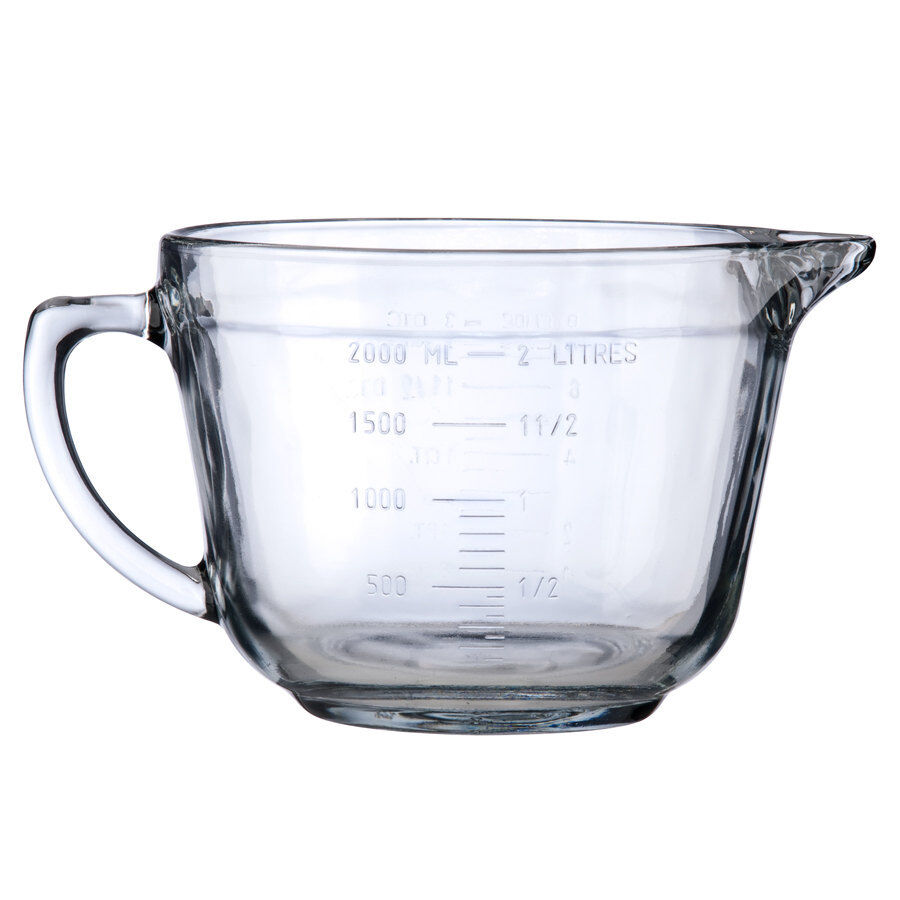 L Glass Measuring Jug