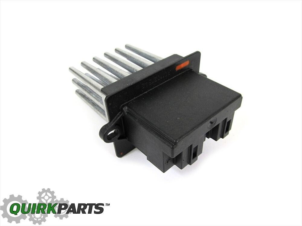 2004 2008 pacifica with auto temp control blower motor for Chrysler pacifica blower motor resistor