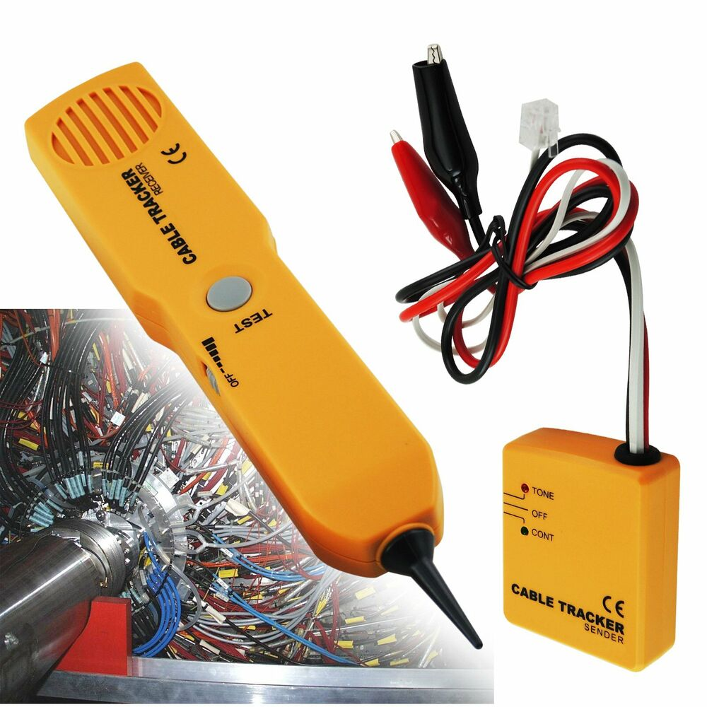 Lowes Tone Generator Electrical Wire Tracer Electrical: Cable Wire Tracker Network RJ11 Phone Line Tracer Tester