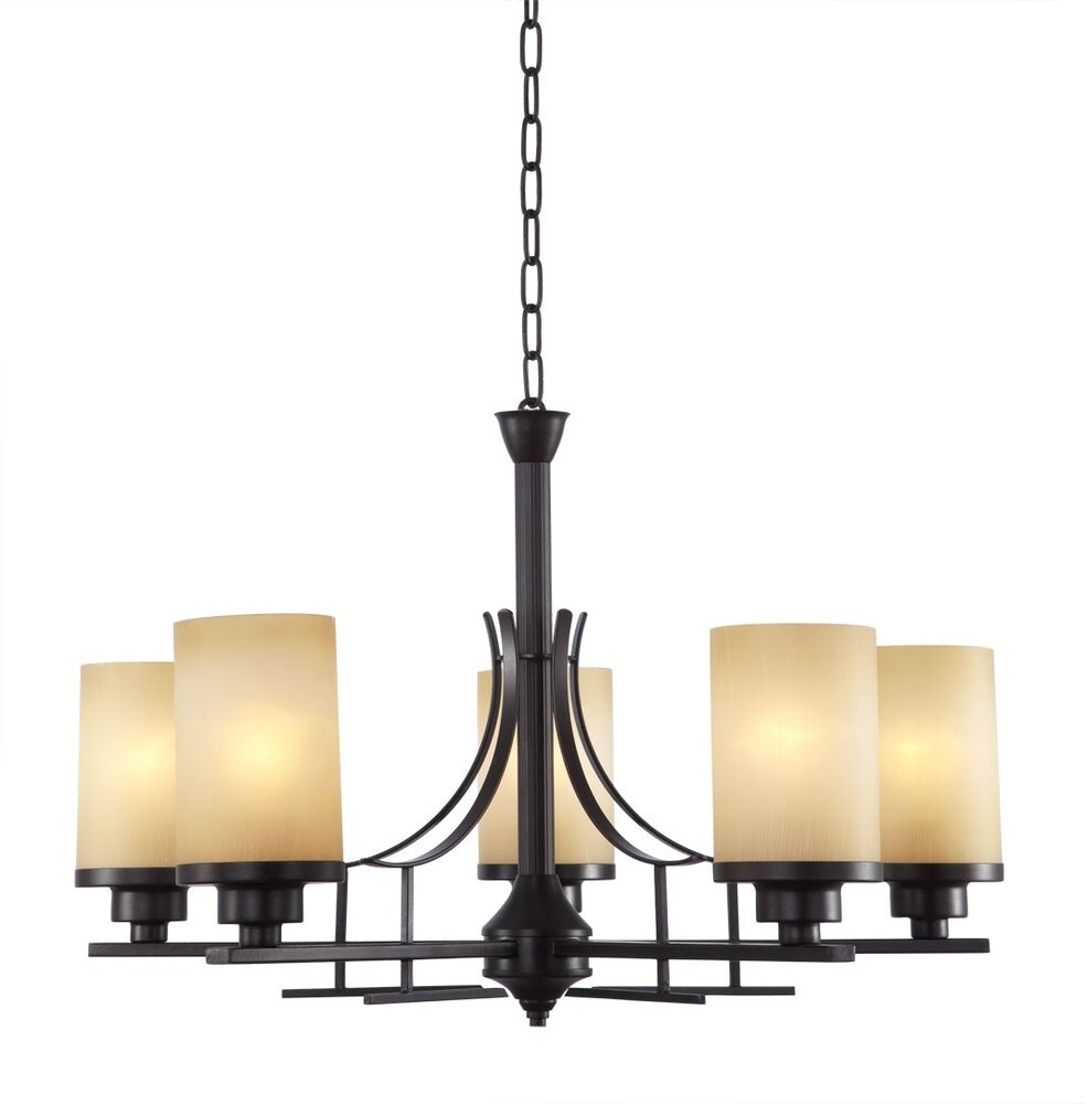 Candle Light Fixture: OIL RUBBED BRONZE 5 LIGHT CANDLE VERANDA ROUND CHANDELIER