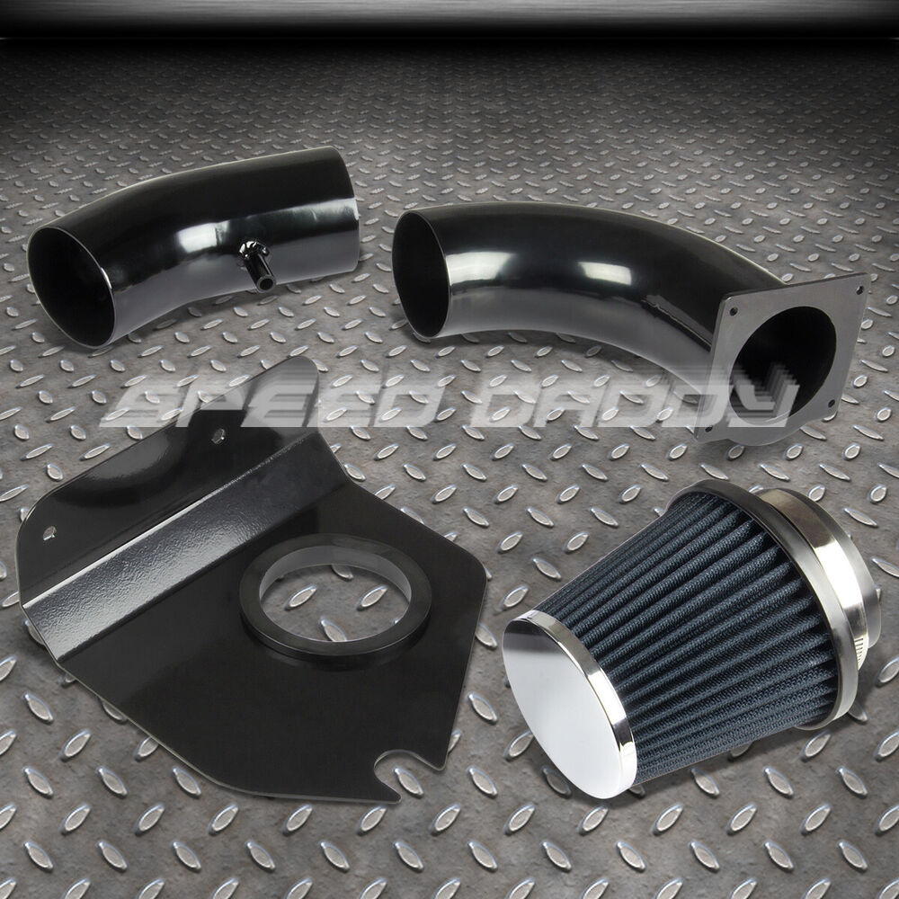 Cold Air Intake Induction Kit Heat Shield 3 U0026quot  Blue Filter