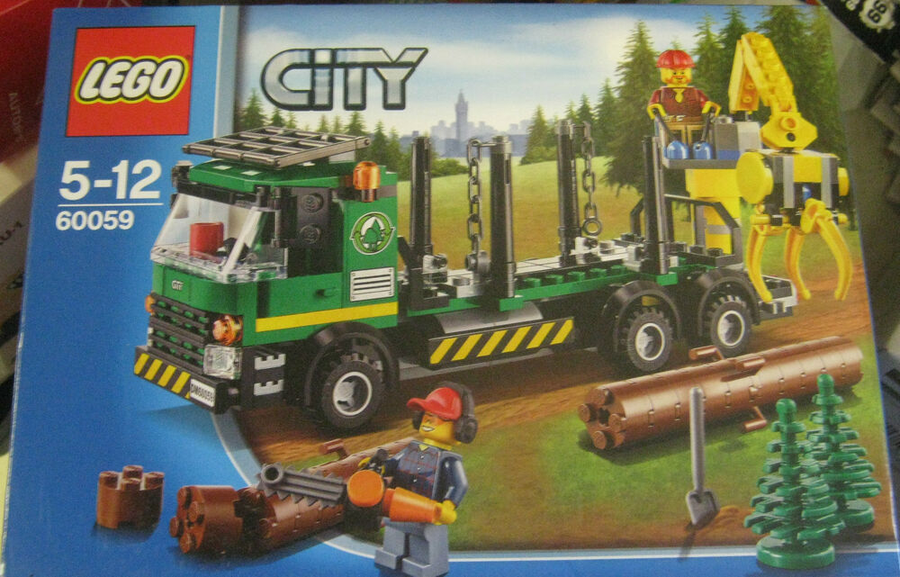 lego logging truck - photo #24