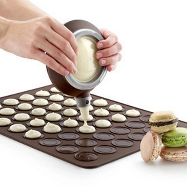 Silicone Macaron Macaroon Pastry Oven Baking Mould Sheet