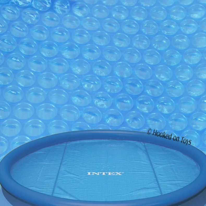Intex 10 39 Solar Pool Cover For Easy Set Metal Frame 29021 Heat Water Hot Ebay