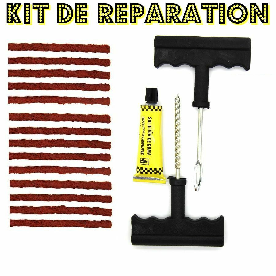 kit de reparation crevaison 13 m ches pour pneu voiture quad moto ebay. Black Bedroom Furniture Sets. Home Design Ideas