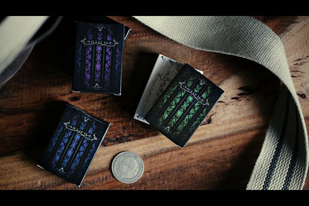 Ellusionist has put together 6 American classics from one of our most scandalous eras in history. The Prohibition Playing Cards collection features the best drinks the speakeasys once brought to the table, along with the inspired designs, clever artwork, and quality materials Ellusionist always does.