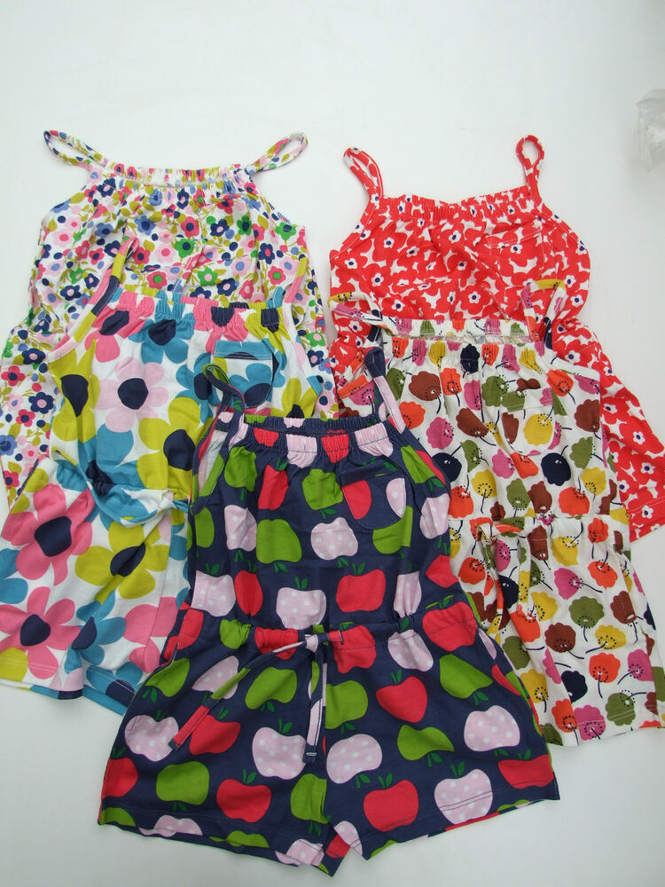 Ex mini boden cute girls all in one shorts playsuit age 1 for Mini boden england