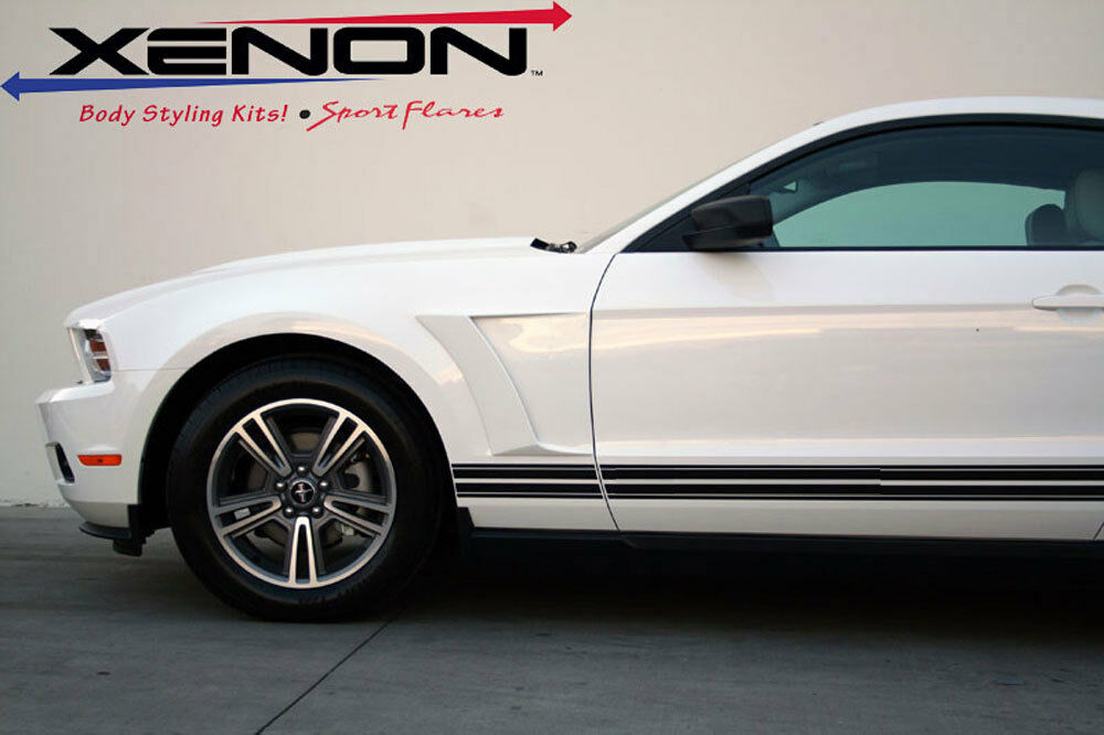 10 14 Ford Mustang V6 Gt Xenon Urethane Front Fender Vents