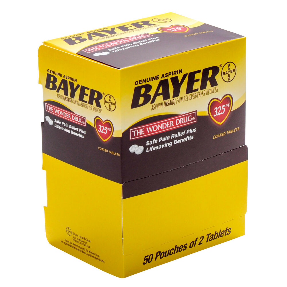 Bayer Aspirin Packets 50 X2 | eBay
