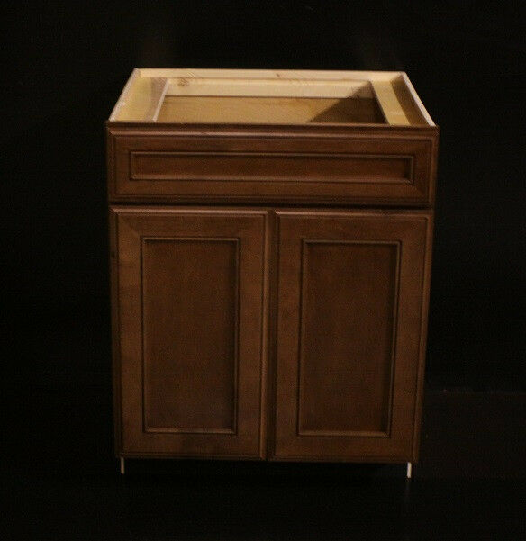 kraftmaid chestnut maple kitchen or bathroom vanity sink cabinet 27