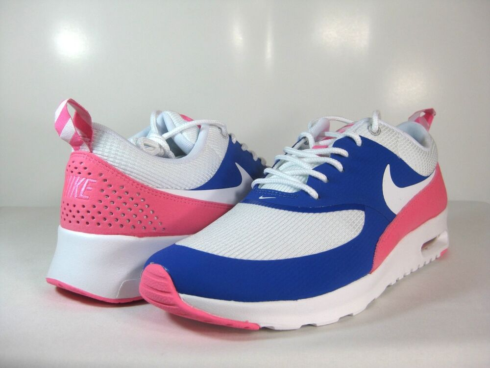 free shipping 8800d 8589a ... NIKE WMNS AIR MAX THEA Game RoyalWhite-Pink Glow -599409 403- ATHLETIC  eBay ...