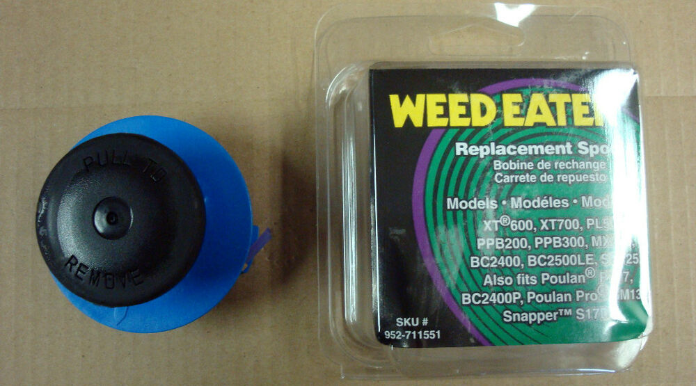 how to change a weedeater spool