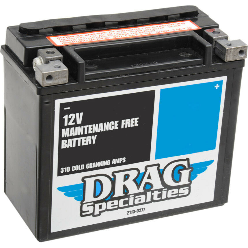 drag specialties agm battery for harley 91 15 fxd softail 97 03 xl and 94 02 ebay. Black Bedroom Furniture Sets. Home Design Ideas