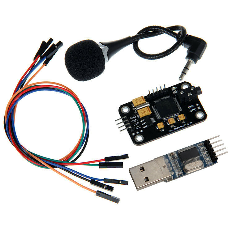Voice recognition module microphone usb to rs
