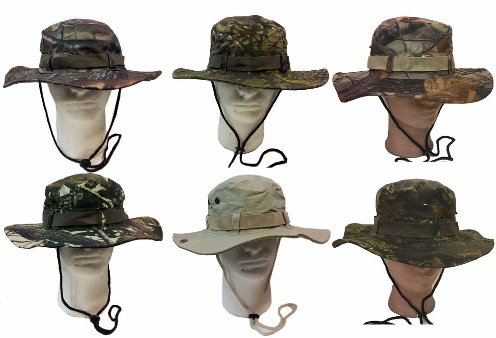 Details about Army Marine Military Boonie Fishing Hunting Army Reversal  Bucket Jungle Cap Hat 07c62acd123