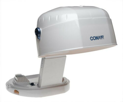 Hair Dryer Hood ~ New conair hh collapsable bonnet watt folding hair