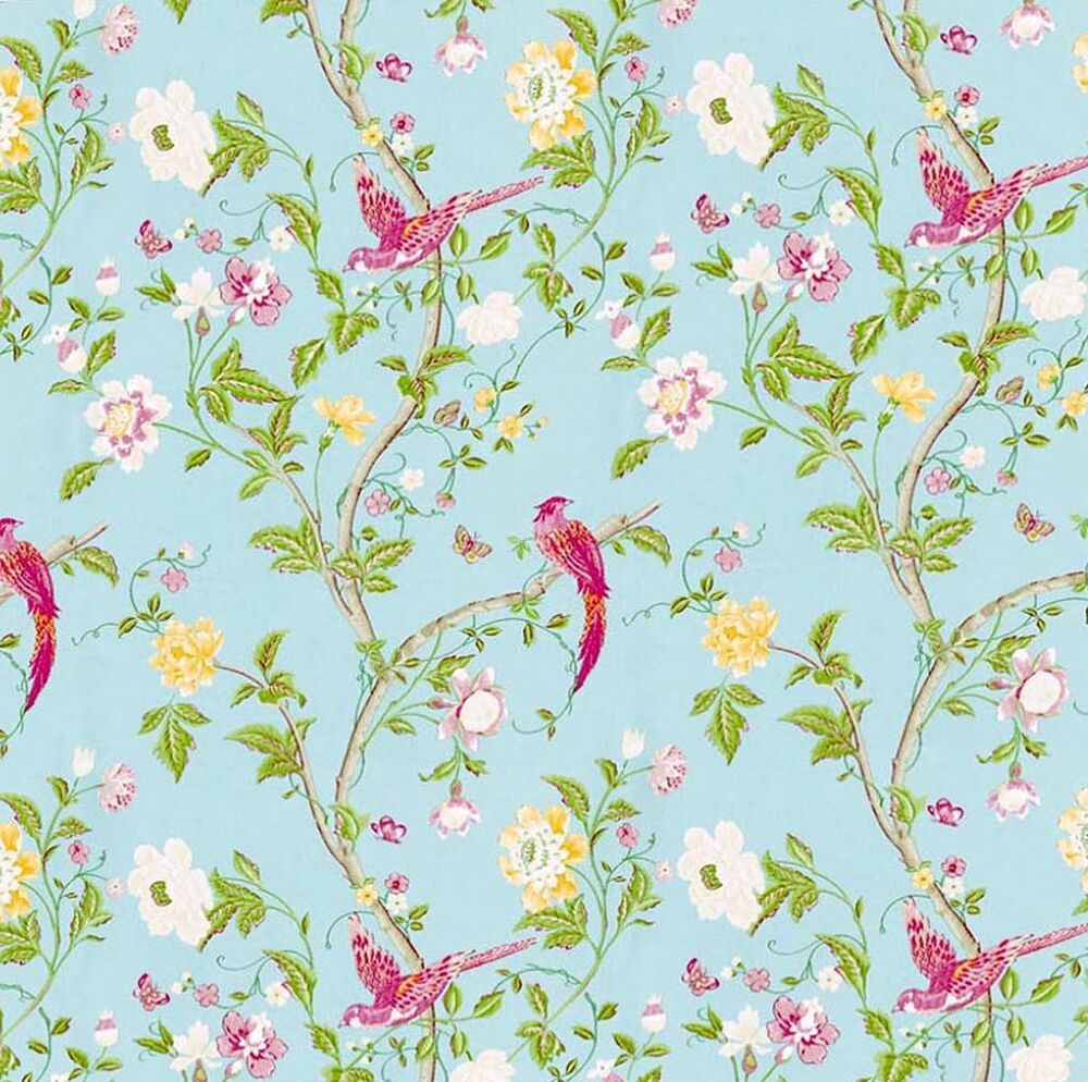 Dolls House Wallpaper 1/12th 1/24th Scale Birds Quality
