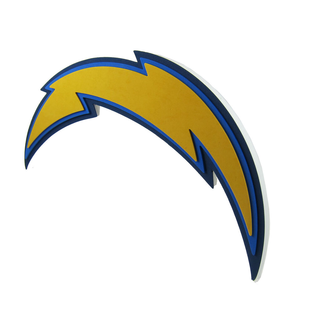 San Diego Chargers Fans: Brand New NFL San Diego Chargers 3D Fan Foam Logo Wall