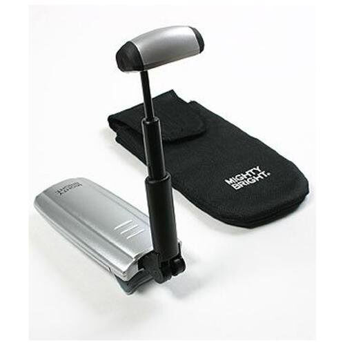 mighty bright triple led music stand light silver ebay. Black Bedroom Furniture Sets. Home Design Ideas