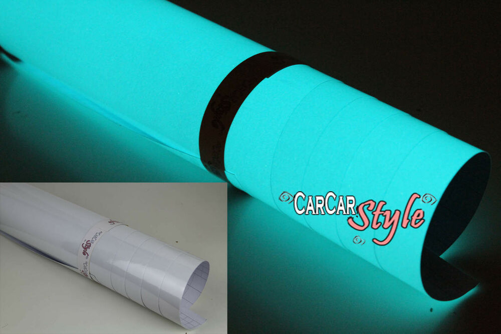 Glow In The Dark Green Vehicle Wrapping Vinyl Wrap Film Ebay