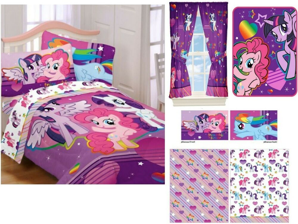 KIDS GIRLS HASBRO MY LITTLE PONY BEDDING BED IN A BAG ...