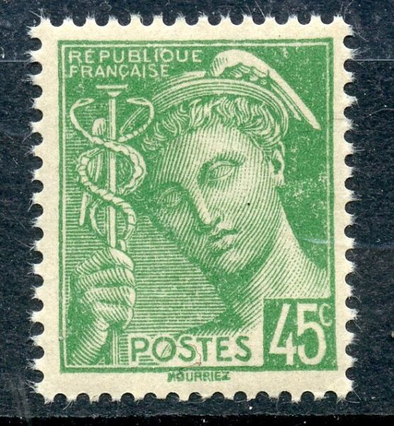 TIMBRE  FRANCE  NEUF N° 414 ** TYPE MERCURE