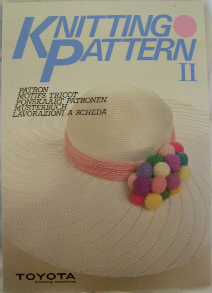Knitting Equipment Uk : Toyota knitting patterns book ii for most