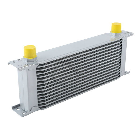 Racing Transmission Fluid Cooler : Silver universal row an engine transmission racing