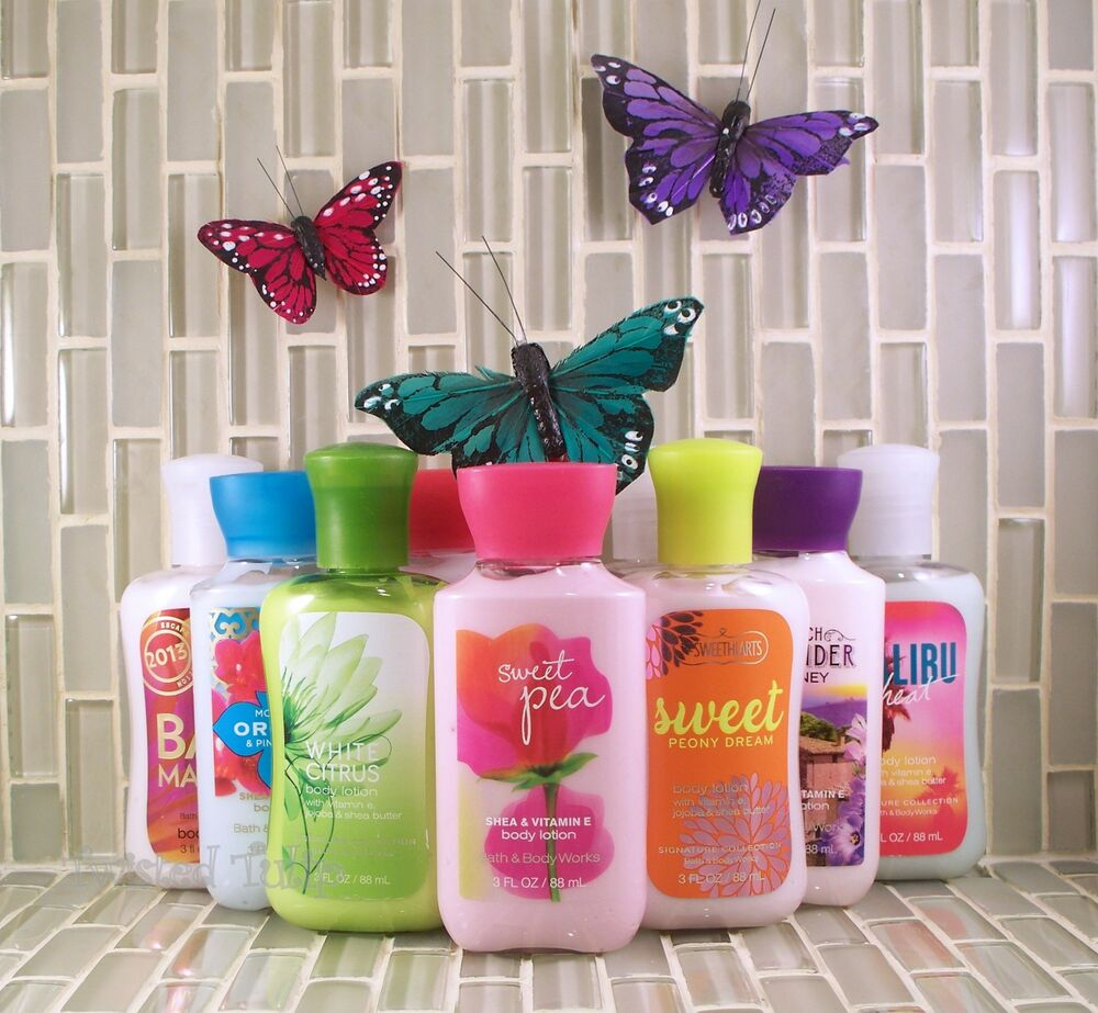 Bath And Body Works Travel Size Lotion