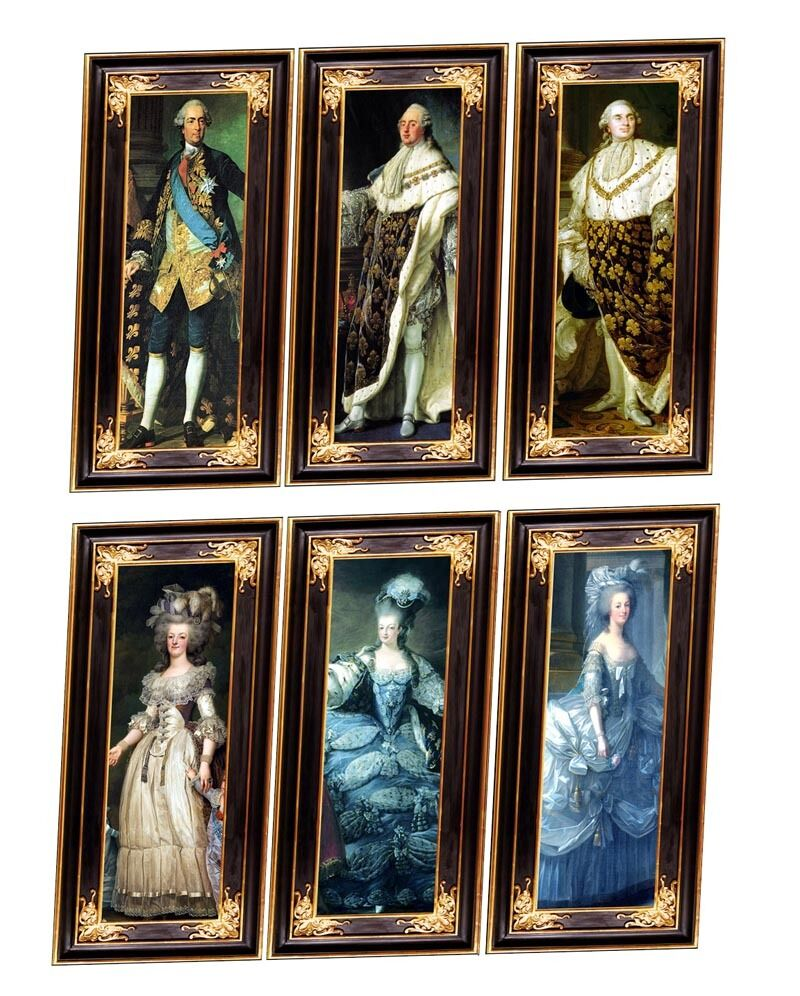 Dolls House Victorian Wall Panels Choose From 1/12th Or 1