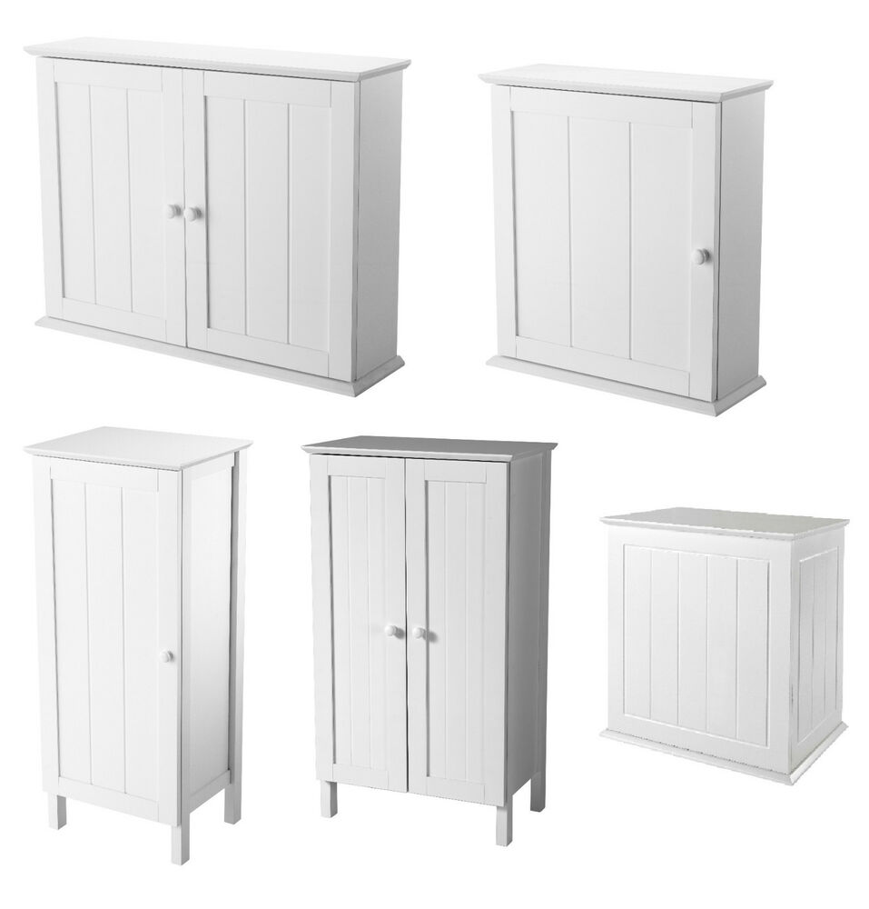 showerdrape white bathroom cabinets collection cupboards units