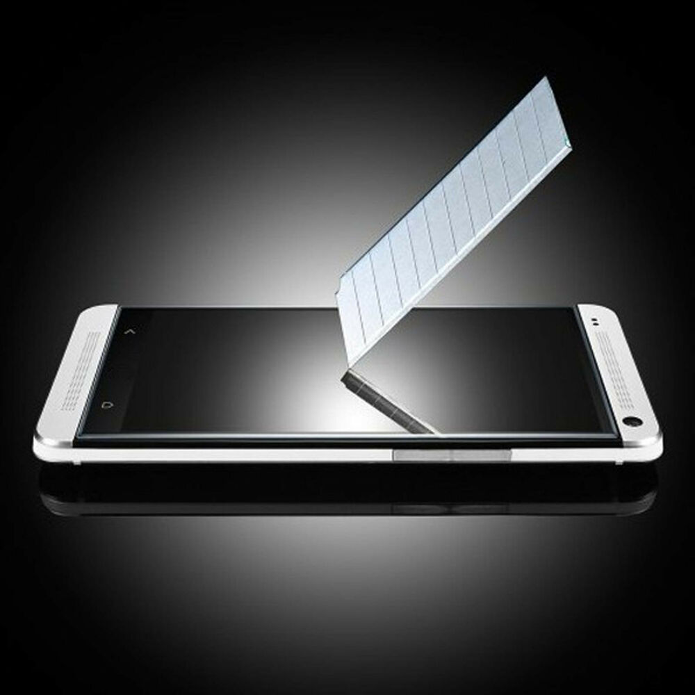 tempered gorilla glass screen protector for htc one m7 high quality 9h film usa ebay. Black Bedroom Furniture Sets. Home Design Ideas