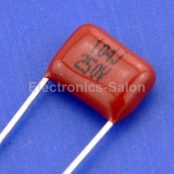 20pcs 100nf 250v Metallized Polypropylene Film Capacitor