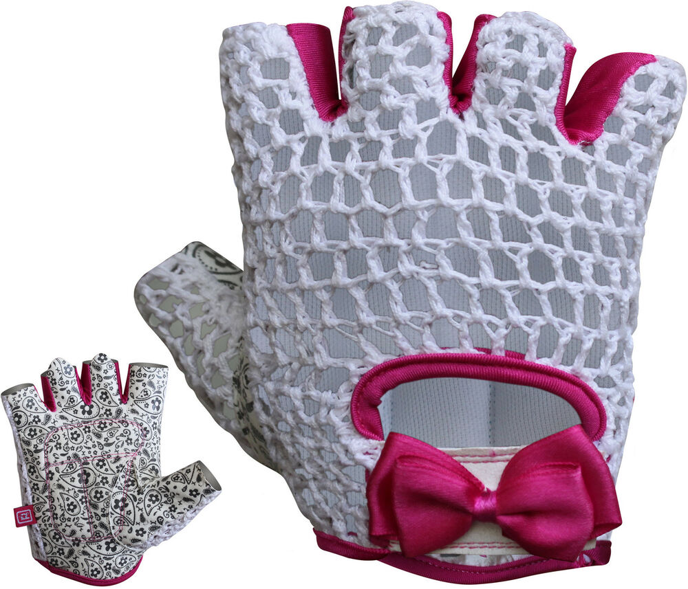 Rdx Ladies Bodybuilding Weight Lifting Gym Gloves: RDX Ladies Gloves Fitness Women Gym Wear Exercise Workout